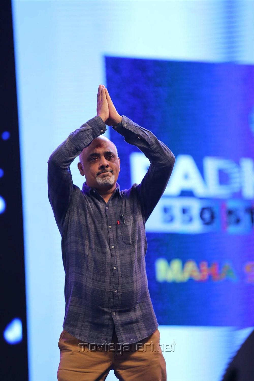Lyricist Ramajogayya Sastry @ Bharat Ane Nenu Audio Launch Photos