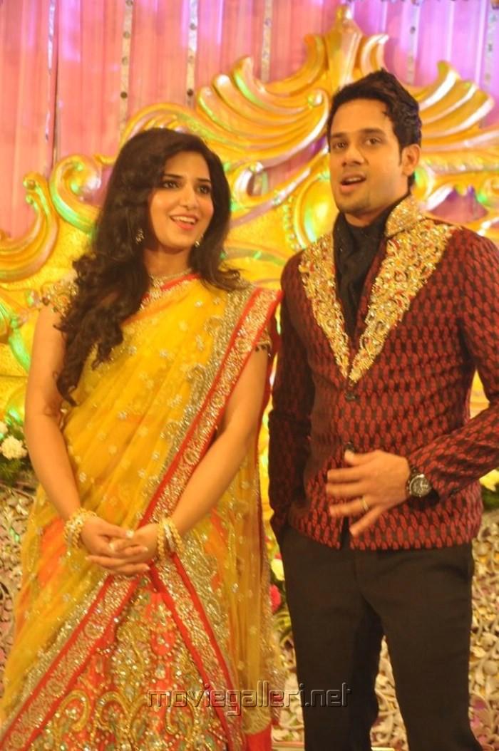 Picture 561270 Actor Bharath Jeshly Wedding Reception