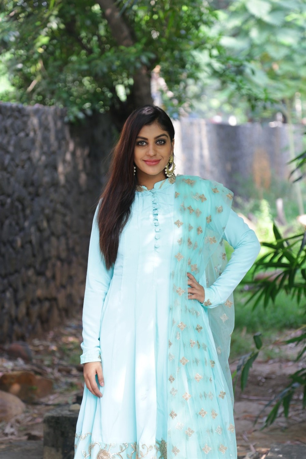 Yashika Anand @ Bharathan Pictures Production No 2 Movie Pooja Stills