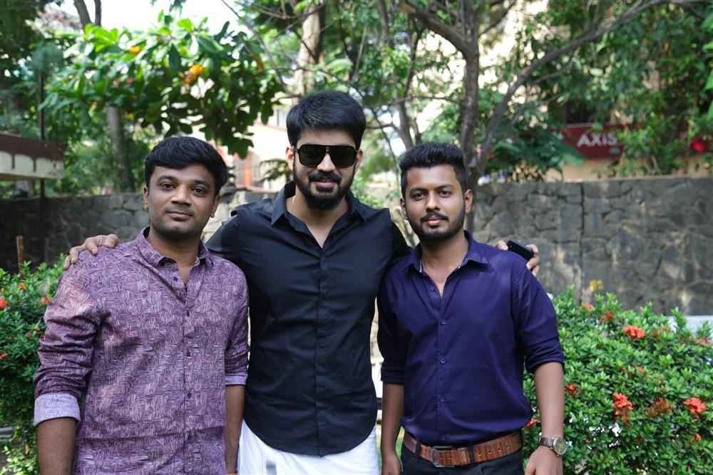 Mahesh, Mahat Raghavendra, Venkat @ Bharathan Pictures Production No 2 Movie Pooja Stills