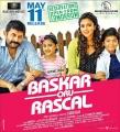 Arvind Swamy, Nainika, Amala Paul, Raghavan in Bhaskar Oru Rascal Movie Release Posters