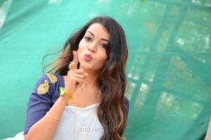 Actress Bhavya Sri Photos @ Vudhyama Simham Movie Opening