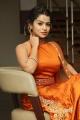 Telugu Actress Bhavya Sri Hot Pictures in Orange Dress