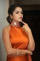 Actress Bhavya Sri Hot Pics in Orange Dress