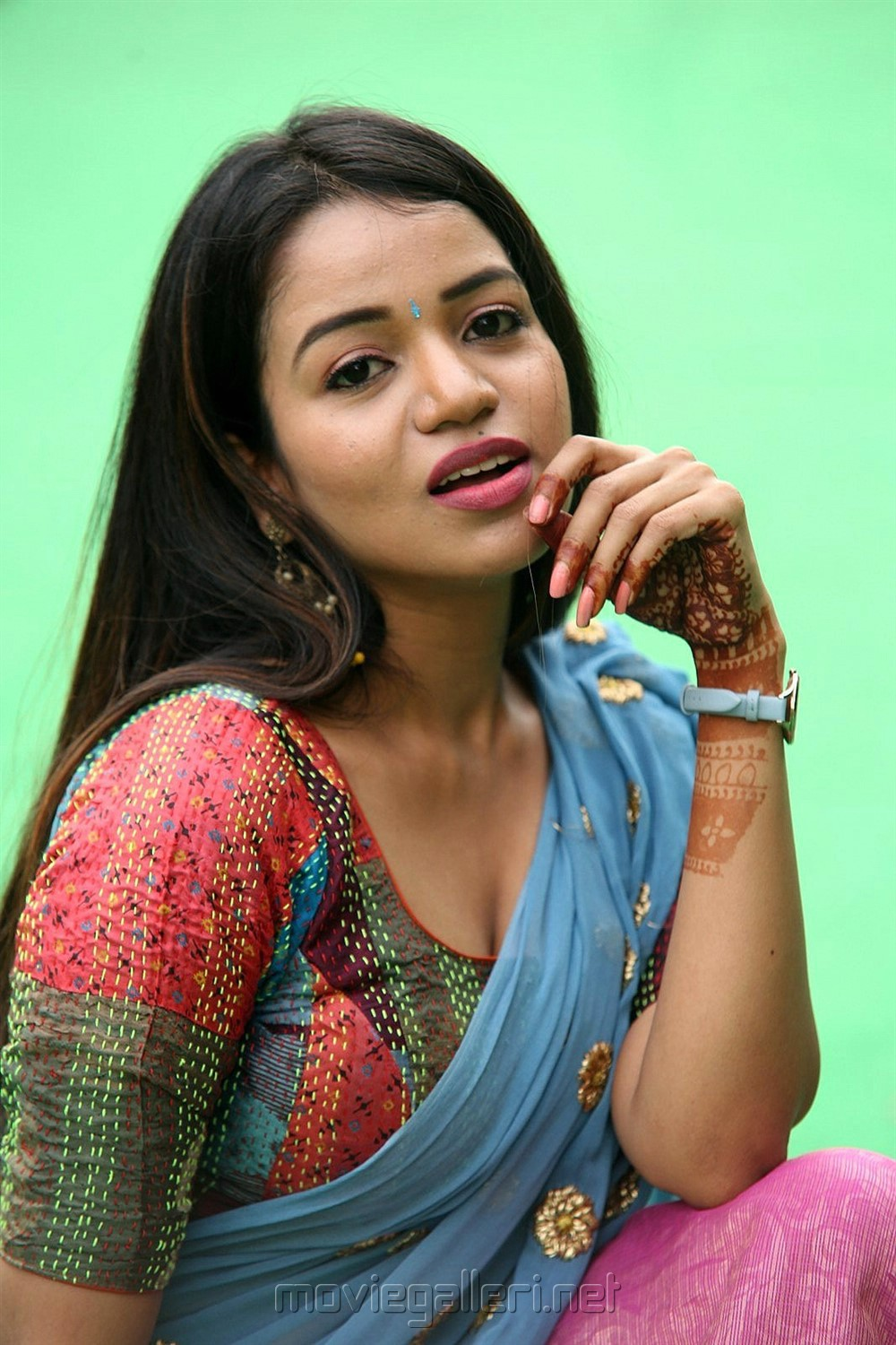 Telugu Actress Bhavya Sri Langa Voni Photos