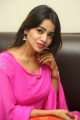 Actress Bhavya Sri in Pink Churidar Dress Photos