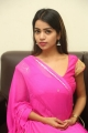 Actress Bhavya Sri Photos in Red And Pink Dress