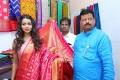 Actress Bhavya Sri inaugurated the 9-day National Silk Expo-2018