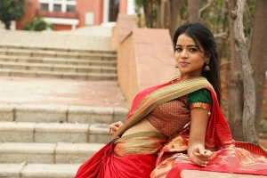 Actress Bhavya Sri Photos at Silk India Expo 2018 Launch