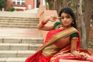 Actress Bhavya Sri @ Silk India Expo 2018 Shilpakala Vedika Photos