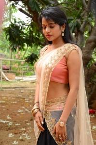 Actress Bhavya Sri Images @ Seetha Devi Movie Launch