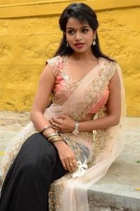 Actress Bhavya Sri Images @ Seetha Devi Movie Opening