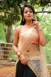 Actress Bhavya Sri Images @ Seeta Devi Movie Launch