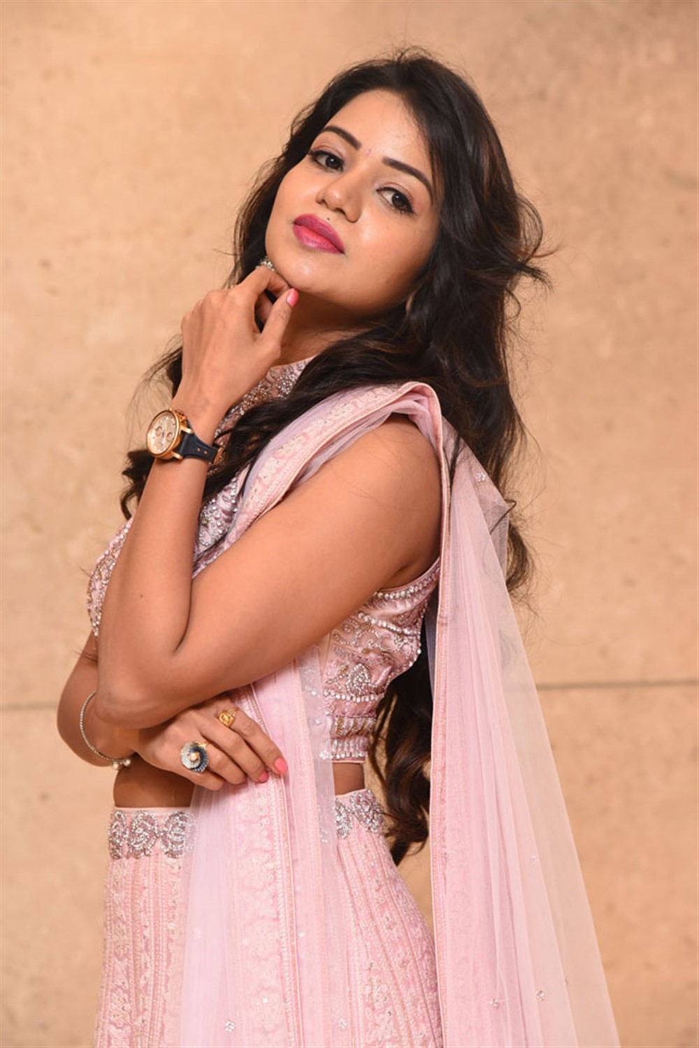 Actress Bhavya Sri Stills @ Pandugadi Photo Studio Audio Launch