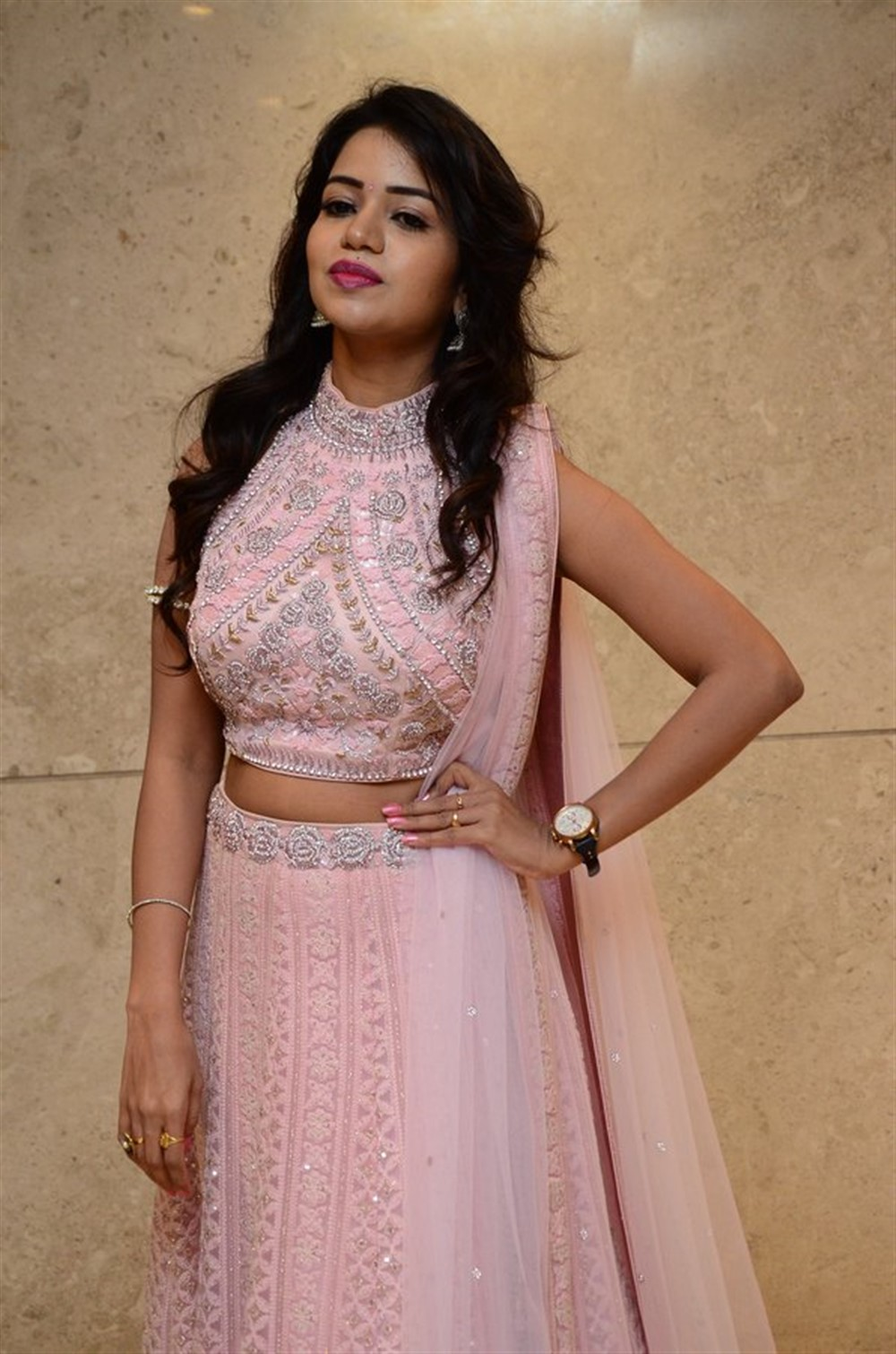 Actress Bhavya Sri Stills @ Pandugadi Photo Studio Audio Release
