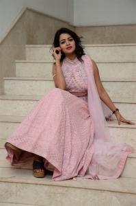 Actress Bhavya Sri Stills @ Pandugadi Photo Studio Movie Audio Release