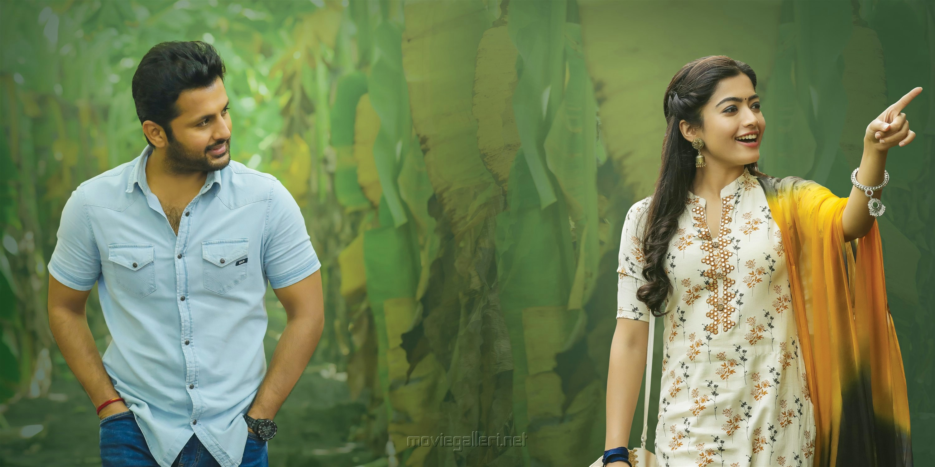 Bheeshma Movie Images Hd Nithin Rashmika Mandanna New Movie Posters