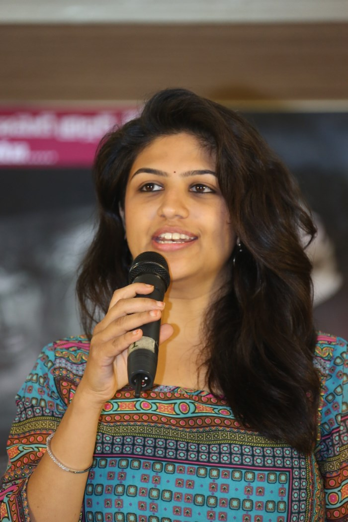 Actress Supriya Aysola @ Bhoo Movie Success Meet Stills