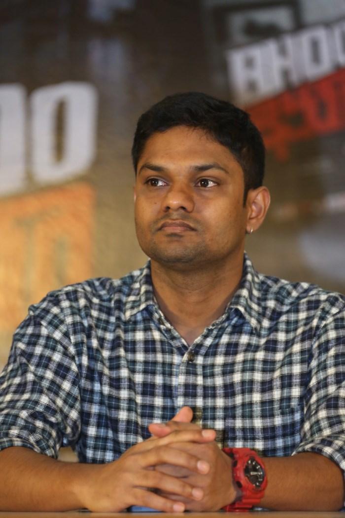 Director Shri Kishore @ Bhoo Movie Success Meet Stills