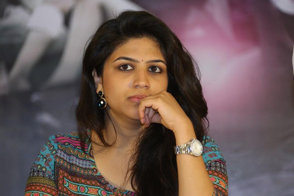 Actress Supriya Aysola @ Bhoo Movie Success Meet Stills