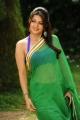 Actress Bhumika Hot Green Saree Photos in April Fool Movie
