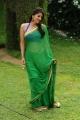 Bhumika Chawla Hot Green Saree Photos in April Fool Movie