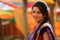 Actress Bhumika Cute Saree Photos in April Fool Movie