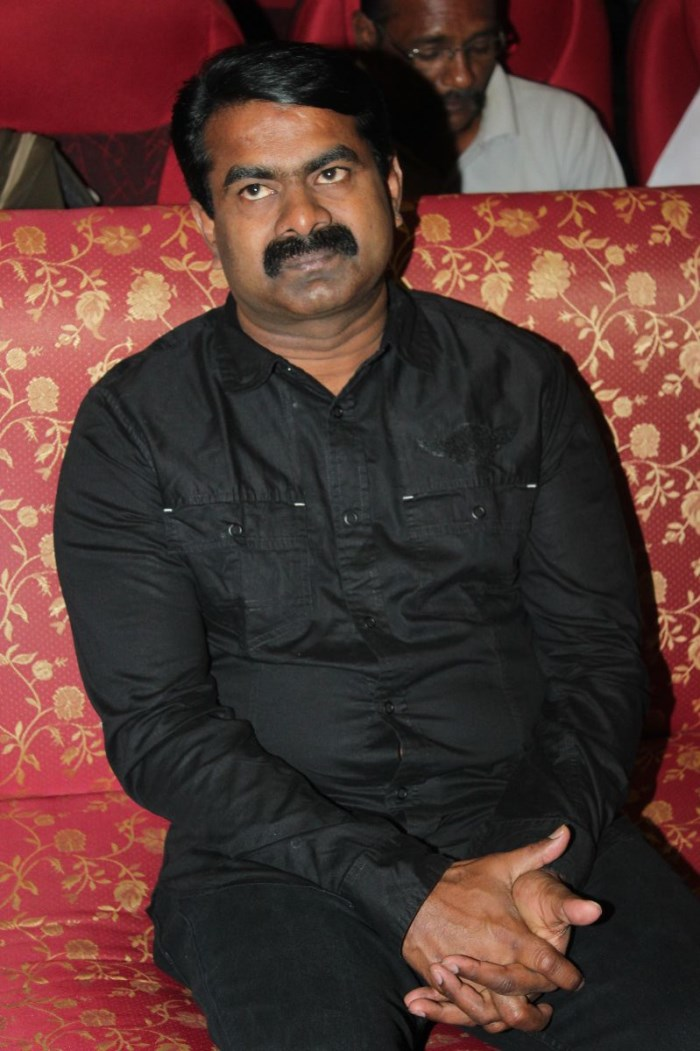 Seeman at Bhuvanakkadu Movie Audio Launch Stills
