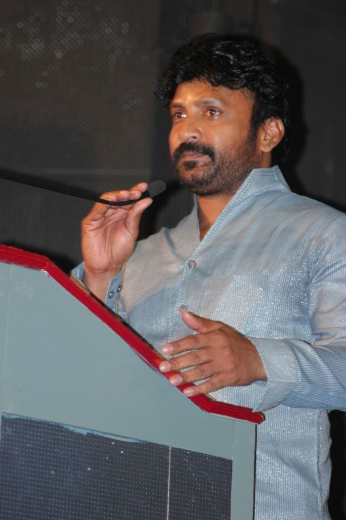 Actor Vignesh at Bhuvana Kaadu Movie Audio Launch Stills