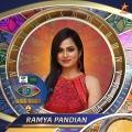 3. Ramya Pandian - Movie actor | reality show contestant | digital sensation Bigg Boss Tamil Season 4 Contestants Name List with Photos Images