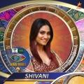 2. Shivani - Television actor heroine in fiction digital sensation Bigg Boss Tamil Season 4 Contestants Name List with Photos Images