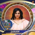 5. Sanam Shetty - Beauty pageant winner   model Bigg Boss Tamil Season 4 Contestants Name List with Photos Images