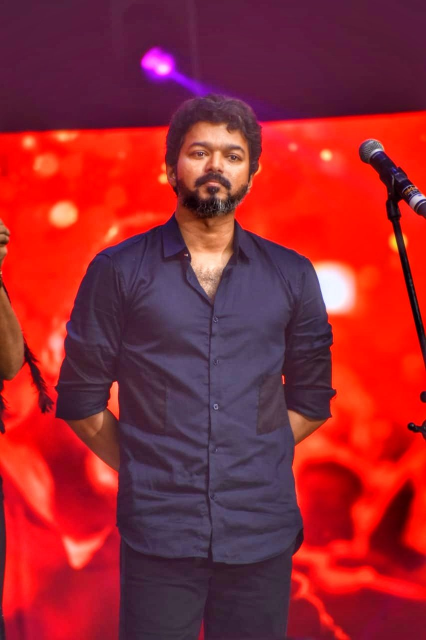 Thalapathy Vijay @ Bigil Audio Launch Stills HD
