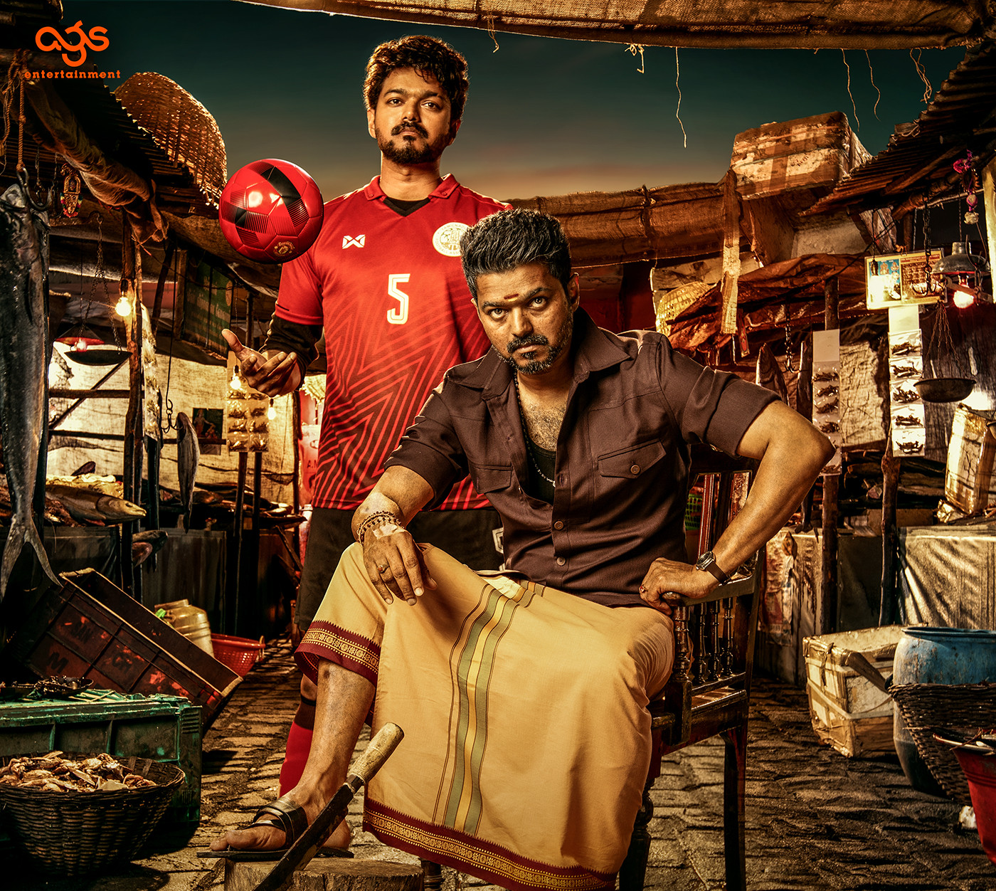 Actor Vijay Bigil Movie HD Stills