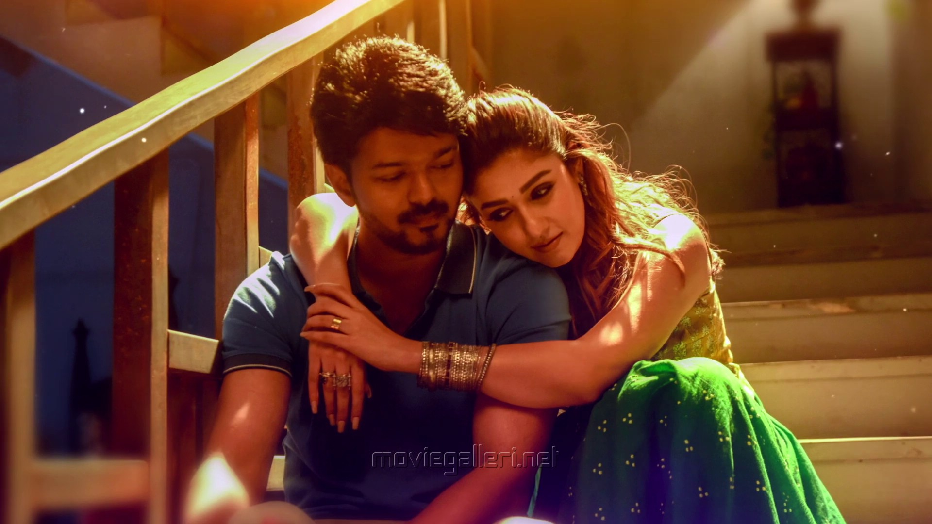 Vijay, Nayanthara in Bigil Movie Photos HD