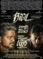 Vijay, Jackie Shroff in Bigil Movie Release Posters HD