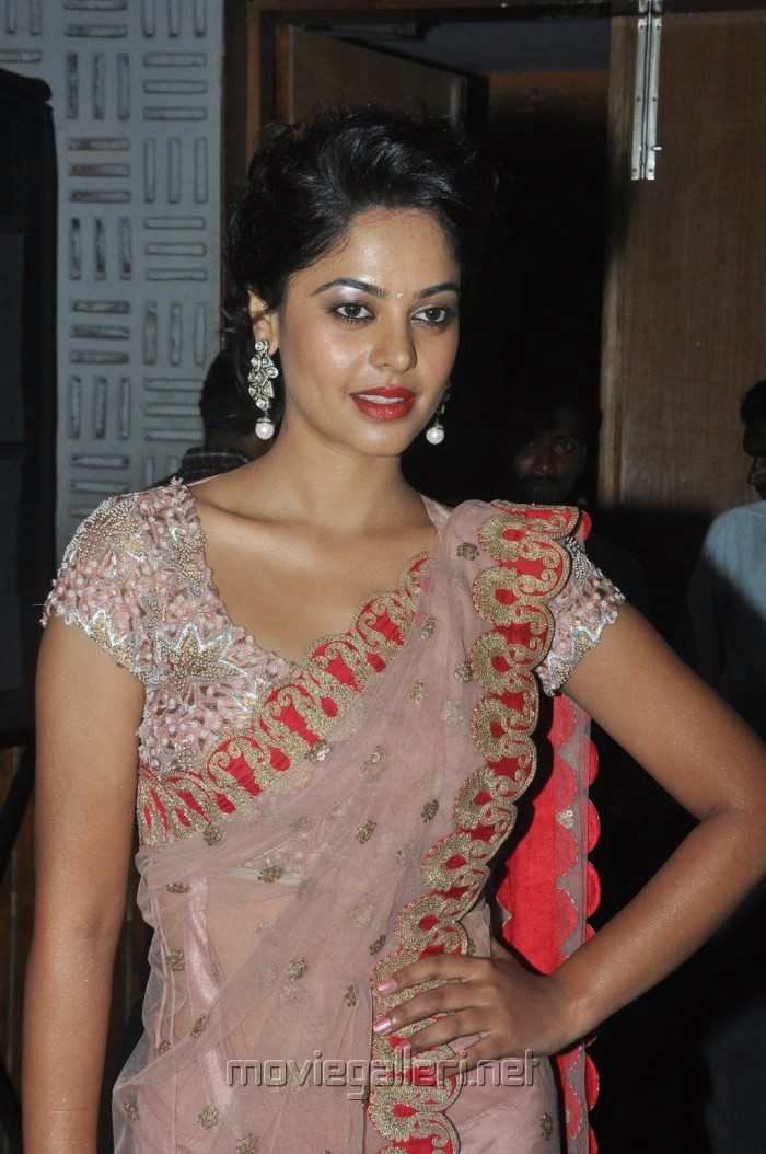Actress Bindu Madhavi Latest Stills in Pink Saree