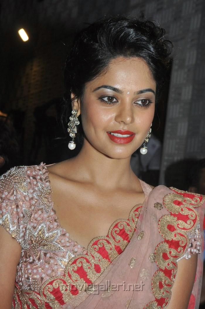 Actress Bindu Madhavi Latest Saree Stills