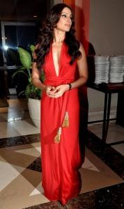 Actress Bipasha Basu Hot Photos in Red Long Skirt