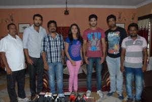 Biscuit Telugu Movie Press Meet Photos