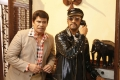 Anandaraj, Santhanam in Biskoth Movie HD Images