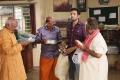 K. Bujji Babu, Santhanam, K. Sivasankar in Biskoth Movie HD Images