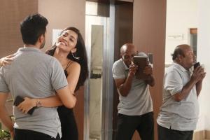 Santhanam, Swathi Muppala, Motta Rajendran, Lollu Sabha Manohar in Biskoth Movie HD Images