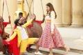 Santhanam, Tara Alisha Berry in Biskoth Movie Images HD