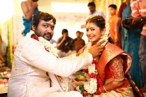 Actor Bobby Simha & Actress Reshmi Menon Wedding Images
