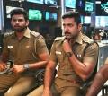 Actor Varun, Jayam Ravi in Bogan Latest Stills