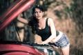 Actress Disha Pandey in Bombai Mittai Telugu Movie Stills