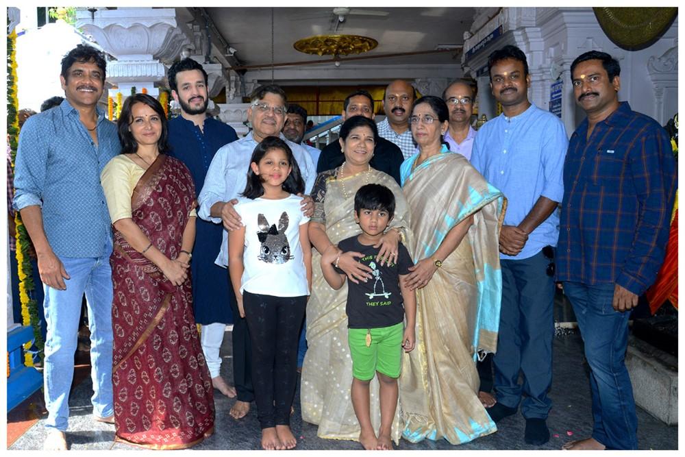Bommarillu Bhaskar Akhil Akkineni Movie Opening Stills