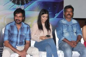 Natty Natraj, Ruhi Singh @ Bongu Movie Team Meet Photos
