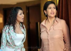 Madhu Shalini, Manisha Koirala in Boochi Telugu Movie Stills